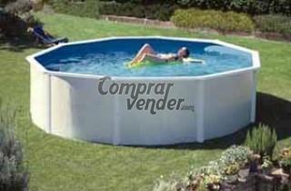 piscina elevada casi nueva