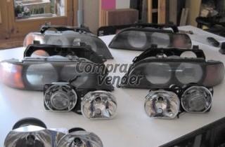 Faros para delanteros BMW modelo 5 serie E39