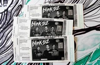 Vendo entradas de Blink 182 concierto 20 julio en madrid