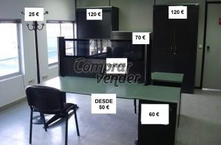 Se venden muebles de oficina