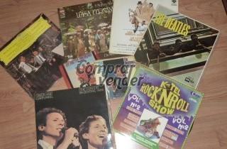 Coleccion de discos de vinilo