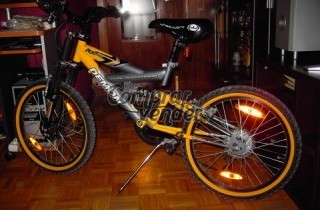 Mountain Bike Demon RX. Doble suspension