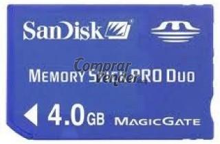 MEMORY STICK PRO DUO 4GB (2 UNIDADES)