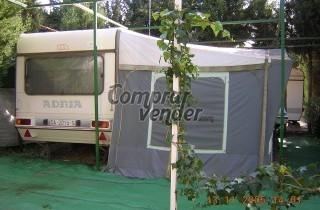 caravana Adria modelo  OCTIMA 430  5 plazas ampliadas