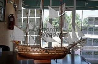 Maqueta Naval de san Juan Nepomuceno