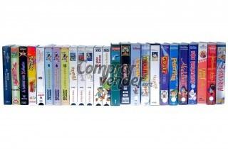 Lote 25 VHS infantil