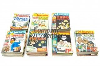 Colección de 180 revistas de El Jueves