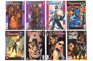 Lote The Ultimates + especial Ultimates and Ultimates Xmen