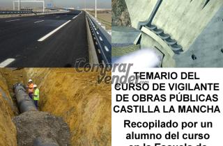CURSO VIGILANTE OBRAS PUBLICAS CASTILLA LA MANCHA