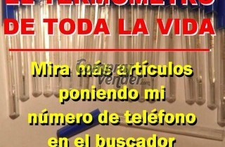 TERMOMETRO CLINICO DE MERCURIO