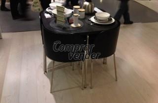 Conjunto mesa 4 sillas ikea modelo fusion barcelona for Usado cantabria muebles