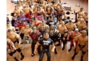 Venta de figuritas de lucha libre (wwe)