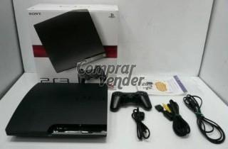 PS3 SLIM 120GB + MANDO + CAJA ORIGINAL + PORTES PAGADOS