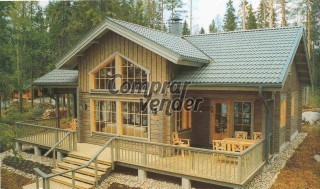 vendo casa madera
