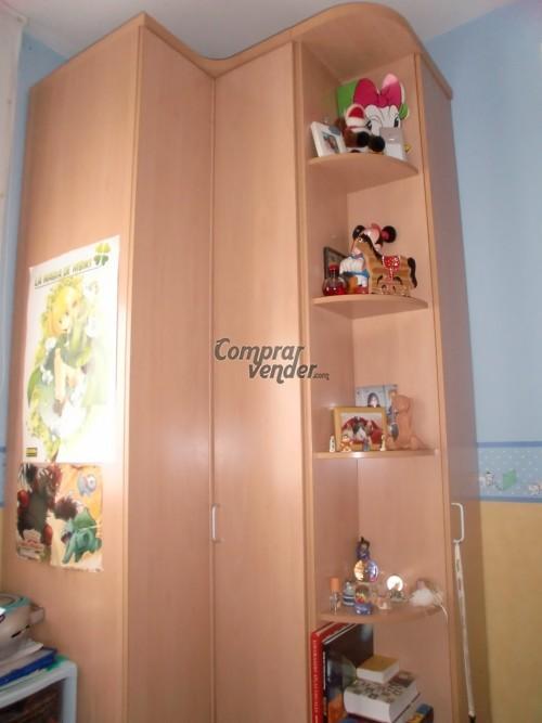 Armario esquinero juvenil en barcelona for Armario esquinero juvenil